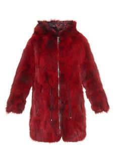 Diane Von Furstenberg Brookes reversible coat
