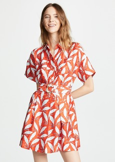 Diane von Furstenberg Button Up Shirt Dress