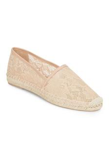 Diane von Furstenberg Cairo 1 Lace Espadrille Flats