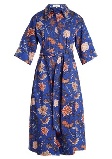 Diane Von Furstenberg Canton-print stretch-cotton dress