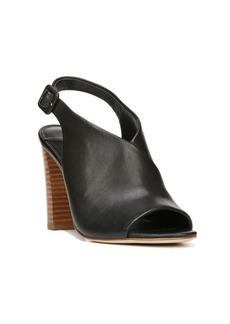 Diane von Furstenberg Carini Leather Block Heel Slingback Sandals