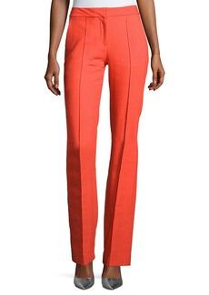 Diane von Furstenberg Cigarette Middle-Seam Pants