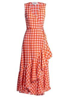 Diane Von Furstenberg Cossier-print asymmetric stretch-silk dress