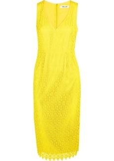 Diane von Furstenberg Crocheted lace dress