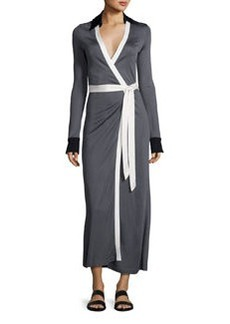 Diane von Furstenberg Cybil Two Monochromatic Jersey Wrap Dress