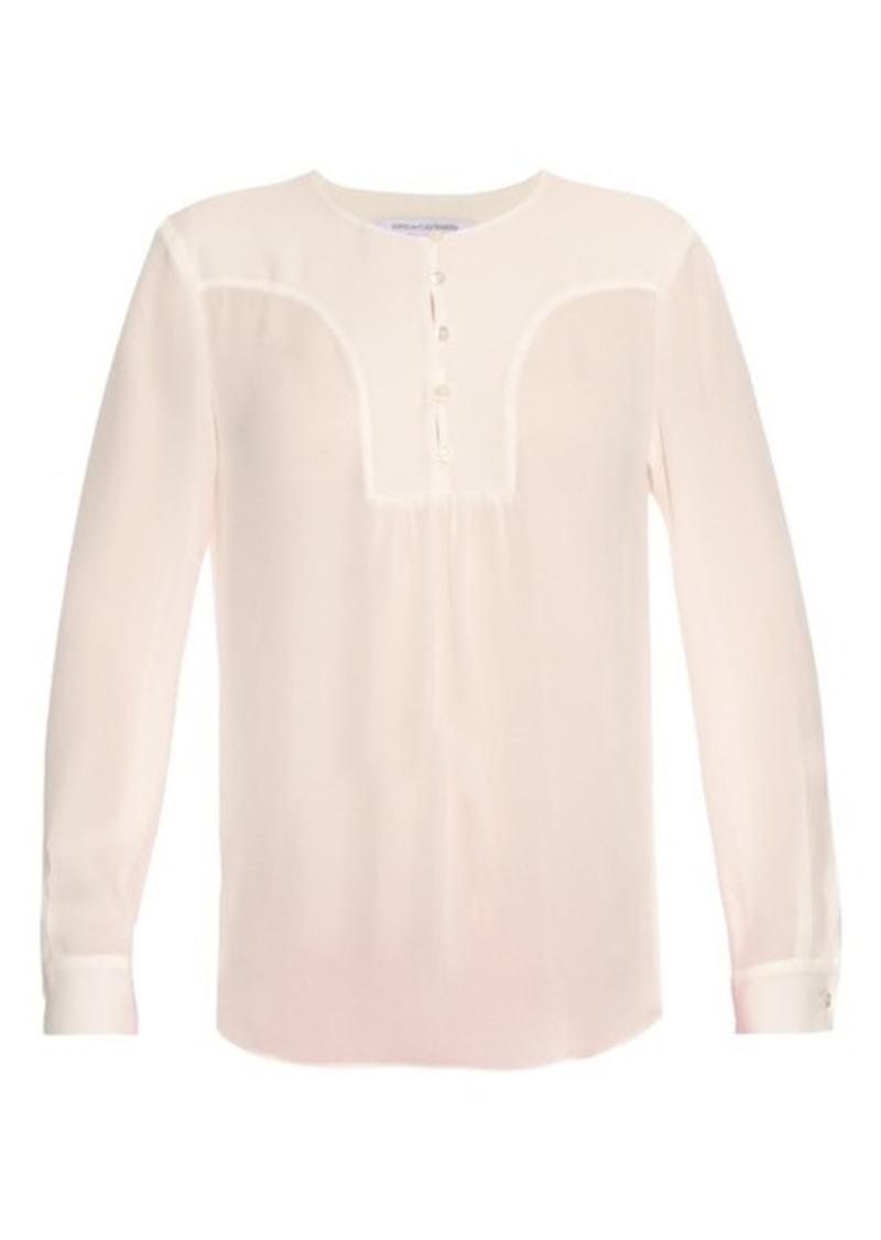 Diane Von Furstenberg Drew blouse