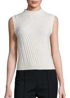Diane Von Furstenberg Ediva Wool & Cashmere Rib-Knit Sweater