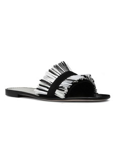 Diane Von Furstenberg Eilat Leather Slides