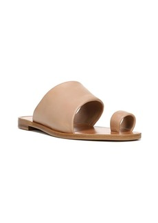 Diane Von Furstenberg Elllo Leather Slides