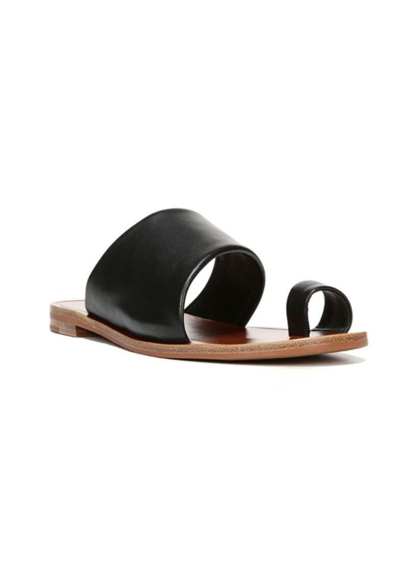 Diane Von Furstenberg Elllo Leather Slides