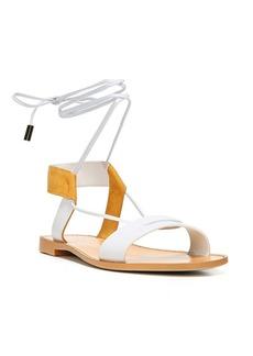 Diane Von Furstenberg Estonia Leather Sandals