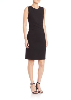 Diane von Furstenberg Evita Solid Sleeveless Dress