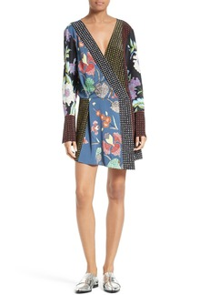 Diane von Furstenberg Faux Wrap Dress