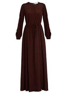 Diane Von Furstenberg Ferma-print silk maxi dress