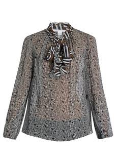 Diane Von Furstenberg Fernanda blouse