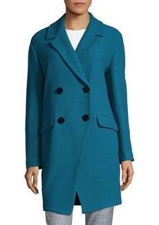 Diane von Furstenberg Finola Long Sleeve Coat
