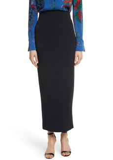 Diane von Furstenberg Fitted Midi Skirt