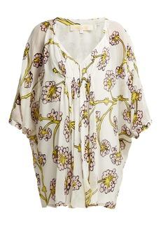 Diane Von Furstenberg Fleurette dragon berry-printed silk dress