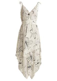 Diane Von Furstenberg Floral-print silk dress