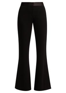 Diane Von Furstenberg Garnett crepe kick-flare trousers