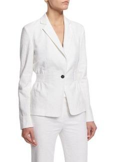 Diane von Furstenberg Gavyn Textured Blazer
