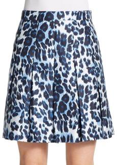 Diane von Furstenberg Gemma Animal-Print Skirt