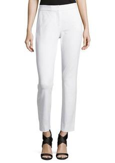Diane von Furstenberg Genesis Flat-Front Cropped Pants