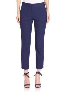 Diane von Furstenberg Gennifer Two Stretch Cotton Capri Pants