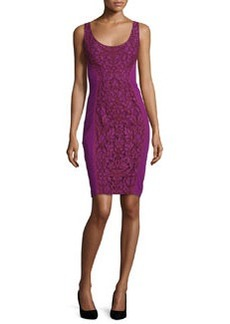 Diane von Furstenberg Geovana Lace Sleeveless Sheath Dress
