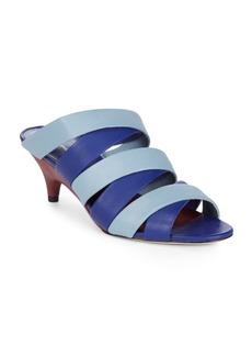 Diane Von Furstenberg Ghanzi Kitten-Heel Sandals