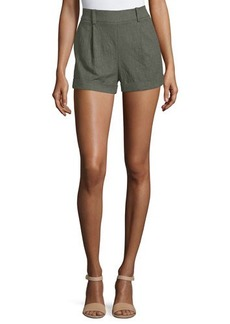 Diane von Furstenberg Gillian High-Rise Woven Shorts
