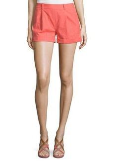 Diane von Furstenberg Gillian Mid-Rise Woven Shorts