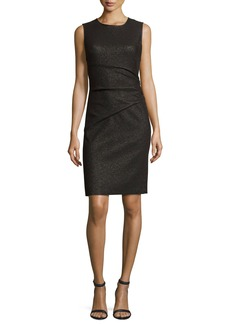 Diane von Furstenberg Glennie Metallic Cocktail Dress