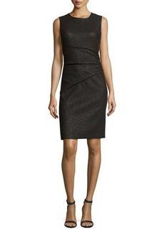 Diane von Furstenberg Glennie Metallic Cocktail Dress