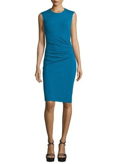 Diane von Furstenberg Glennie Wrap-Waist Sheath Dress