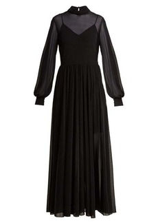 Diane Von Furstenberg High-neck maxi dress