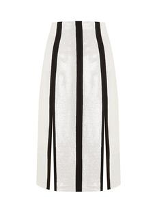 Diane Von Furstenberg High-rise sequin-embellished midi pencil skirt