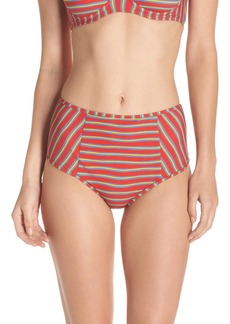 Diane von Furstenberg High Waist Swim Briefs