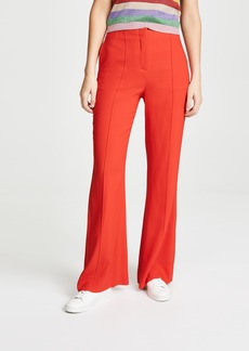 Diane von Furstenberg High Waisted Flare Pants