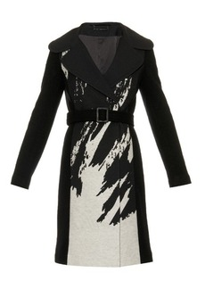 Diane Von Furstenberg Incognito wool-blend coat