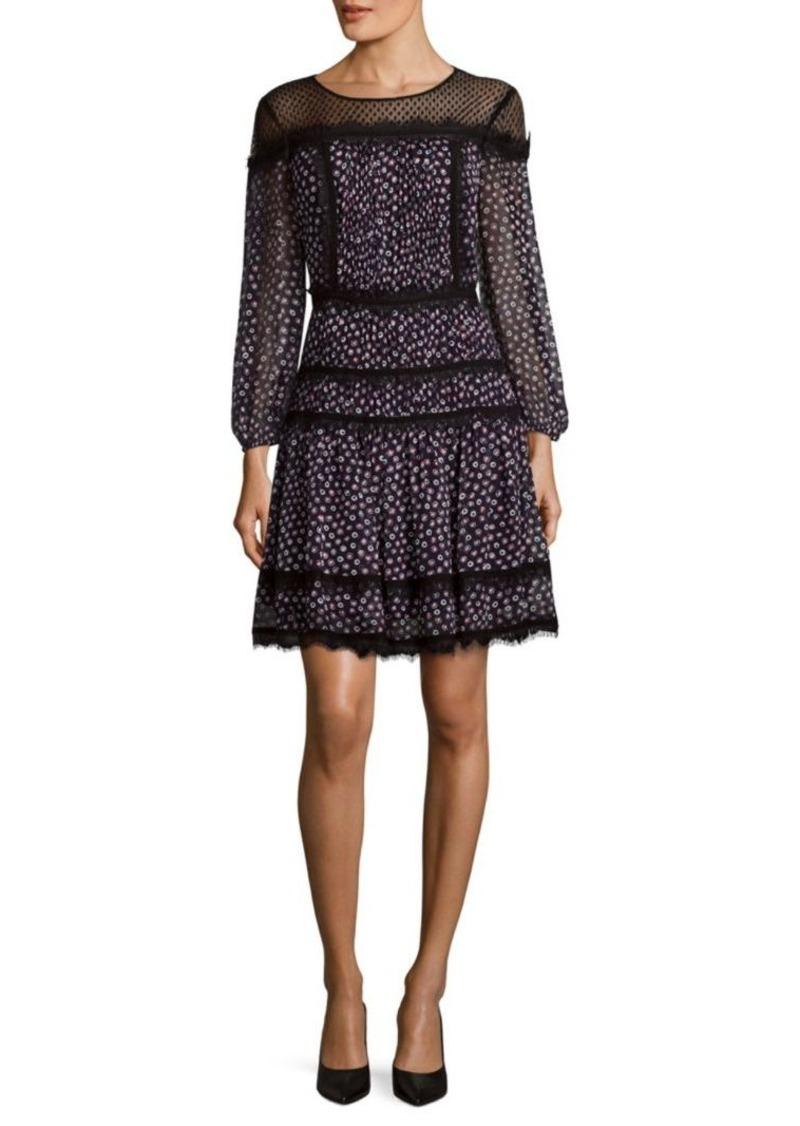 Diane von Furstenberg Jamie Silk Dress