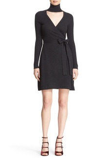 Diane von Furstenberg 'Janeva' Wool & Cashmere Wrap Dress