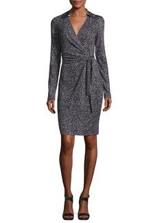 Diane von Furstenberg Jelsa Silk Jersey Faux-Wrap Dress