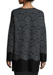 Diane von Furstenberg Jeraldine Floral Lace Car Coat