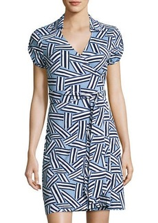 Diane von Furstenberg Jilda Two Dot-Print Wrap Dress