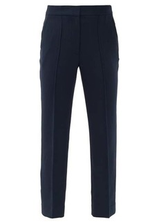 Diane Von Furstenberg Jocelyn high-rise twill trousers