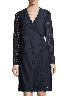 Diane von Furstenberg Julian Lace Wrap Dress