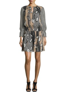 Diane von Furstenberg Kelley Printed Blouson Dress