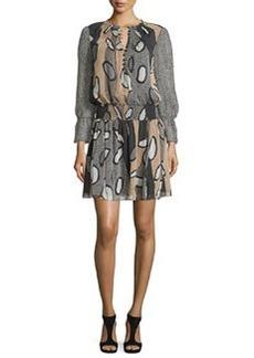 Diane von Furstenberg Kelley Printed Blouson Dress