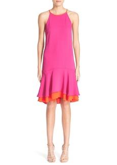 Diane von Furstenberg 'Kera' Sleeveless Crepe Drop Waist Dress